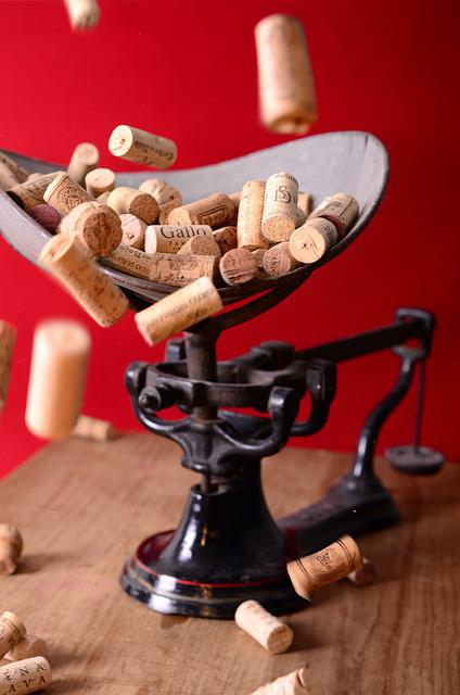 Wine, Corks, Bottle, Winery