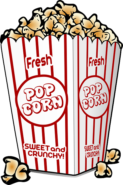 Popcorn, Buttered, Cinema, Corn, Food, Movies, Sweet