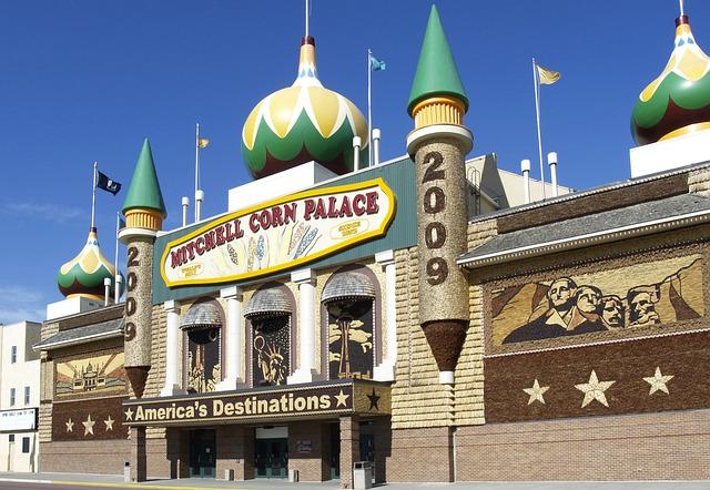Corn, Palace, Mitchell, South Dakota, United States