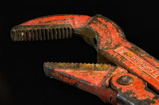 Pipe Wrench, Plumber, Pliers, Force, Tool, Corner Swede