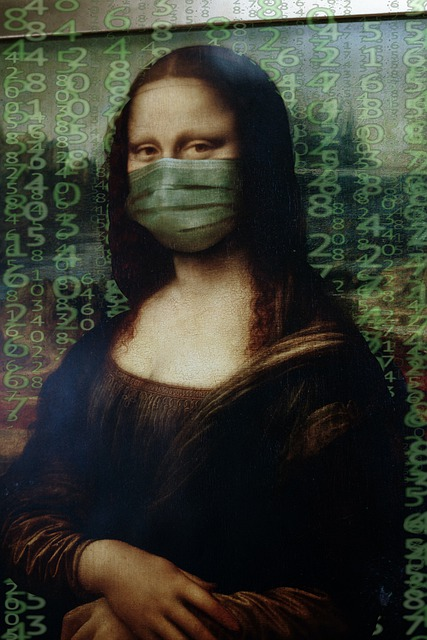 Mona Lisa, Mask, Matrix, Coronavirus, Corona, Virus