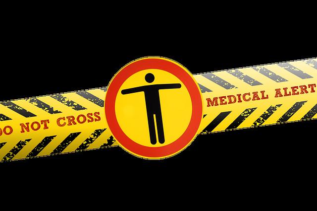 Coronavirus, Virus, Barrier Tape, Police, Barrier