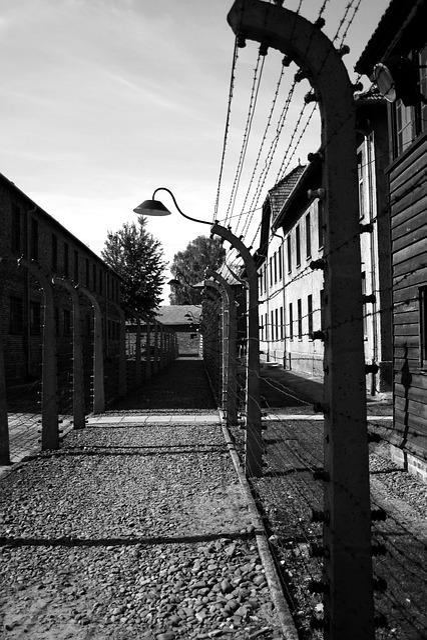 Auschwitz, Perimeter Fence, Corridor