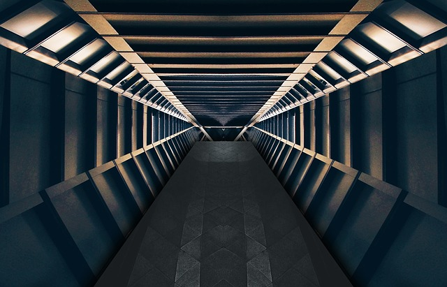 Alien, Backdrop, Background, Battle Star, Corridor