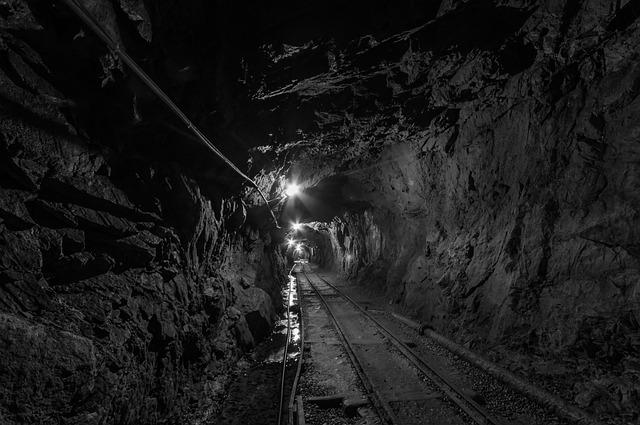 Tunnel, Corridor, Brick, The Darkness, Mine, Stone