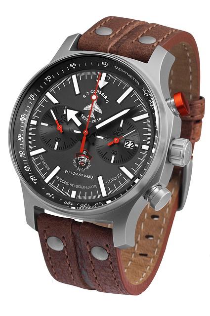 Watch, Corsair, Vostok Europe, A7, Accessories, Male