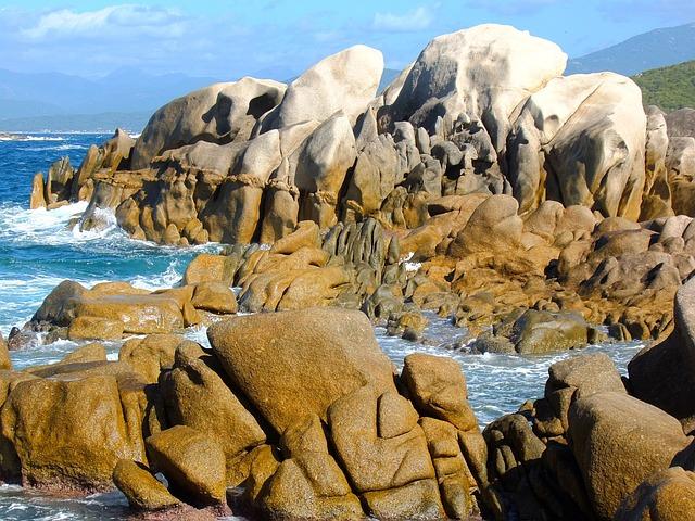 Corsica, Coast, Stones, Rock, Landscape