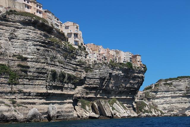 Corsican, Bonifacio, Cliffs