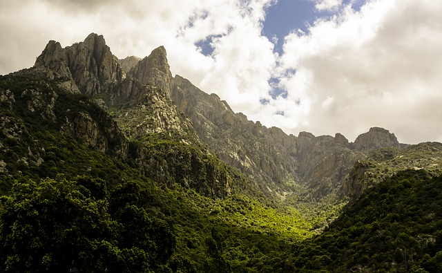 Corsican Nature, Mountains, Mountain Landscape