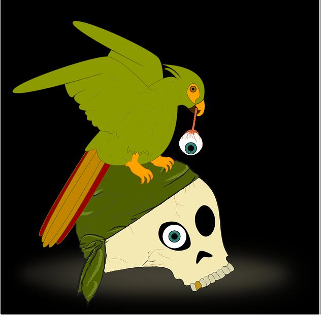 Skull, Corsair, Buccaneer, Filibuster, Corso, Sacker