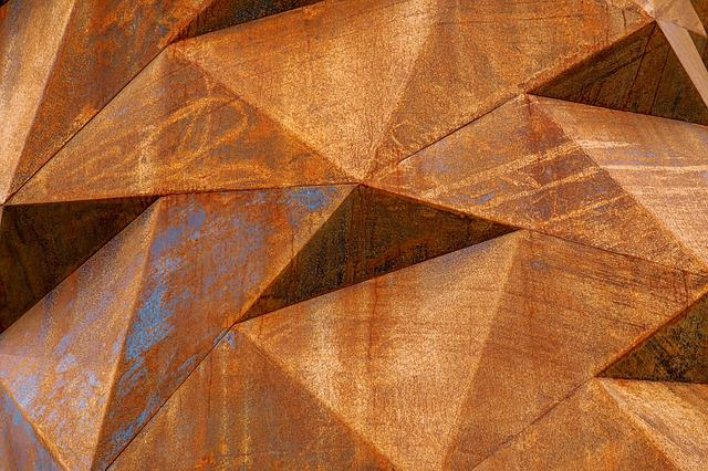 Steel, Metal, Corten Steel, Red Steel, Texture, Rust