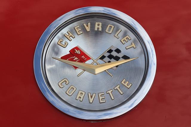 Chevrolet, Corvette, Car, Logo, Bonnet, Ornament, Hood