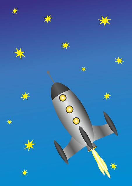 Rocket, Spaceship, Space Travel, Nasa, Cosmos, Universe
