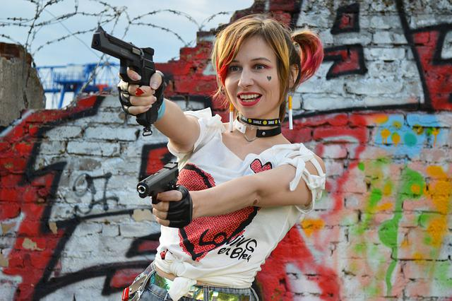 Harley Quinn, Hooligan, The Sight, Gangster, Cosplay
