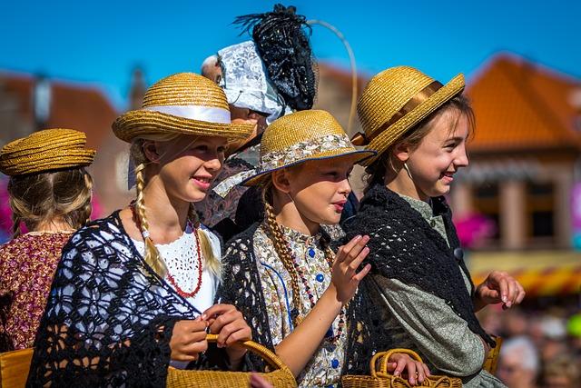 West Frisian Market, Schagen, Parade, Folklore, Costume