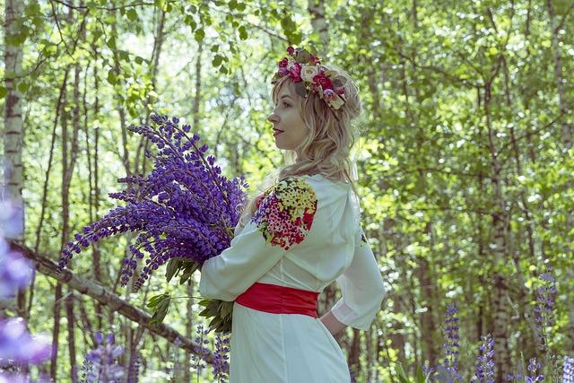 Russian, Russian Folk Costume, Folklore, Costume