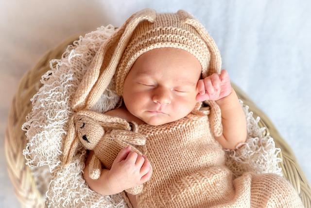 Childhood, Baby, Costume, Bunny, Hare, Newborn, Love