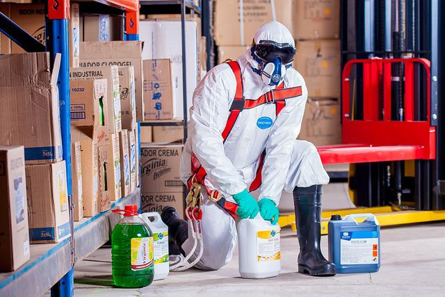 Chemist, Costume, Protection, Security, Logistic