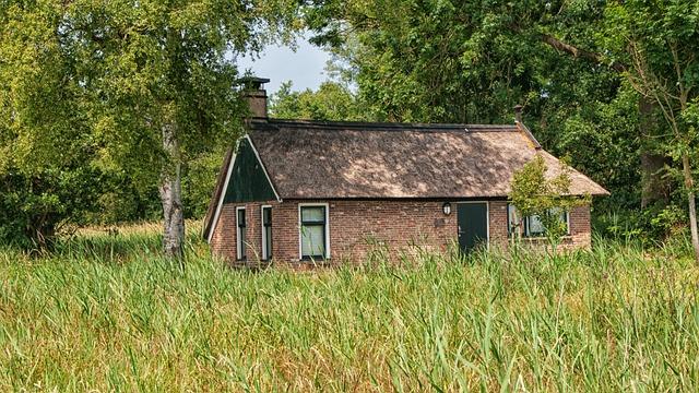 Farm, Cottage, Romance, House, Tourist, Netherlands