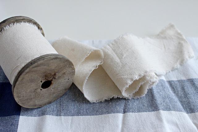 Sink, Cotton, Cotton Cloth, Roll, Textile, Silk, Fiber