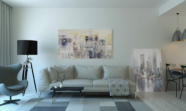 Couch, Furnitures, Indoors, Interior Design, Lamp
