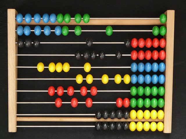 Abacus, Computational Aids, Wooden Balls, Count