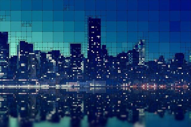 Skyscrapers, City, Skyscraper, Zirkel, Count, Pattern