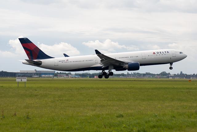 Plane, Runway, Airline, Schiphol, Countries, Delta