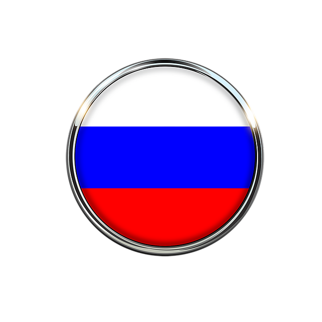 Russia, Flag, Circle, Europe, Countries, Russian