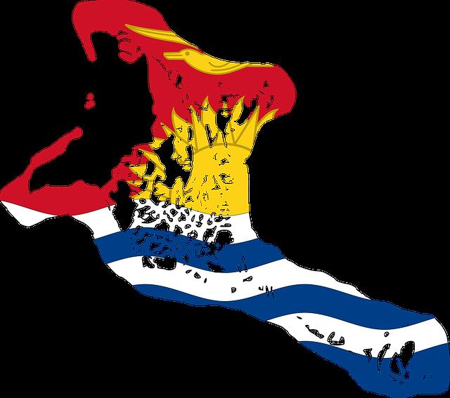Kiribati, Flag, Map, Borders, Country, Geography