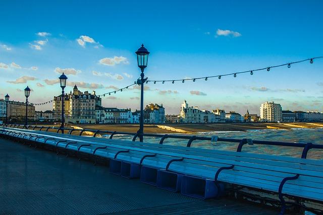Eastbourne Pier, Country, Shadows