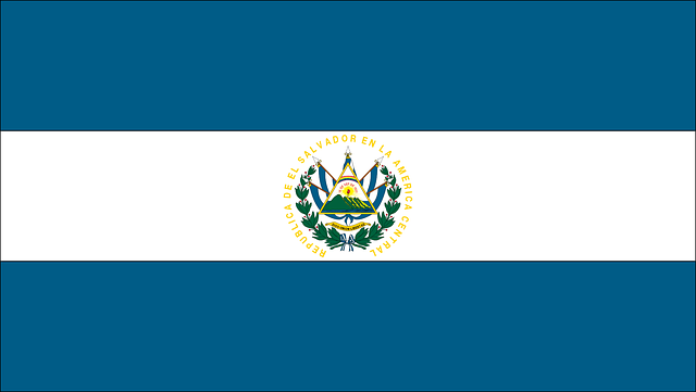Flag, Country, El Salvador