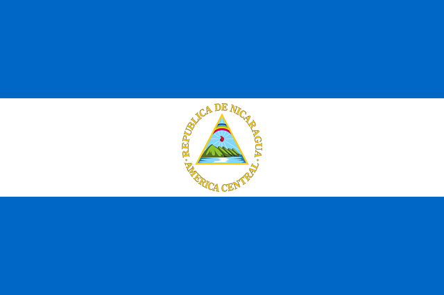 Nicaragua, Flag, National Flag, Nation, Country, Ensign