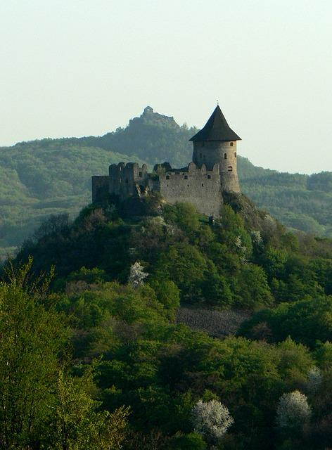 Slovakia, Hungary, Castle, Country, šomoška, šalgó