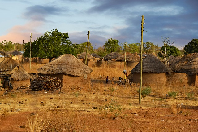 Ghana, West Africa, Africa, Village, Land, Country Life