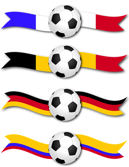 Banner, Soccer, Football, Ribbon, Country, France