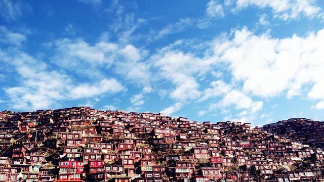 Qiang, Aba, Tibetan, The Scenery, Country, Structure