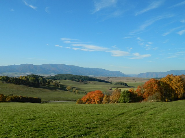 Country, Slovakia, Views, Autumn, Sun, The Sky, Turiec