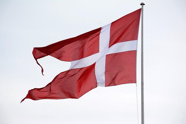 Flag, Patriotism, Banner, Country, Wind, Denmark