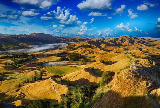 Hills, Countryside, Landscape, Rural, Sky, Nature