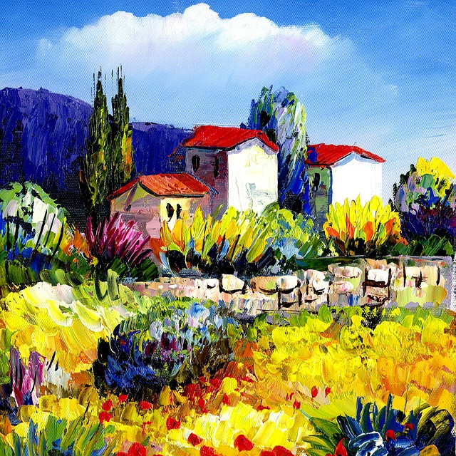 Paintings, Oil Painting, Countryside