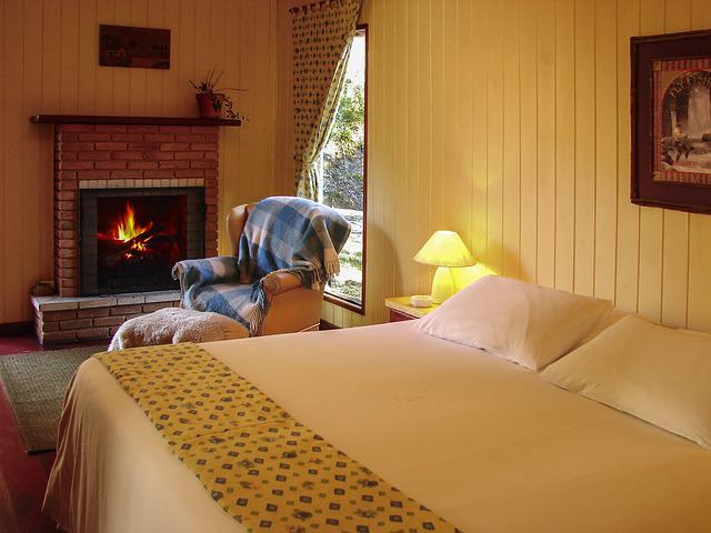 Room, Fireplace, Couple Room