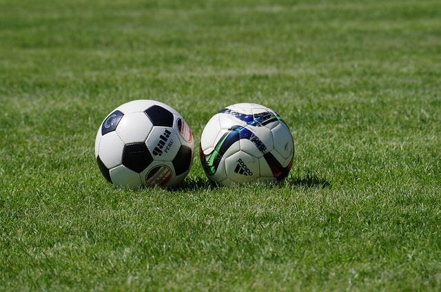 Ball, Football, Lawn, Course