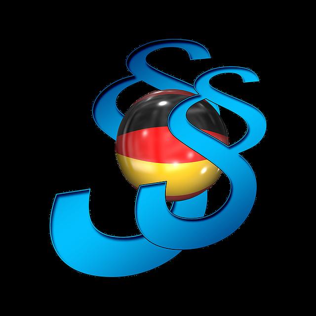 Clause, Germany, Flag, Attorney, Codex, Bid, Court