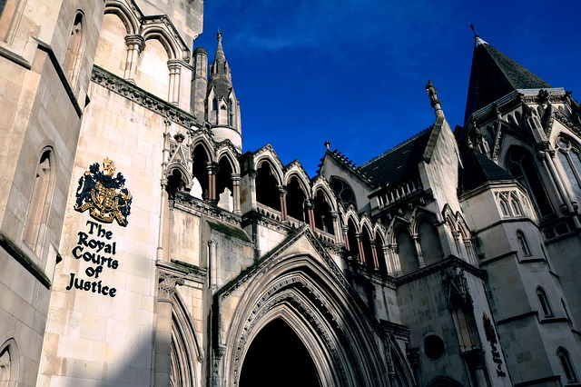 The Royal Courts Of Justice, London, Court, Justice