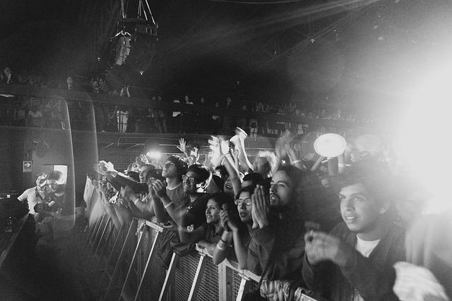 Audience, Barnett, Concert, Courtney, Crowd, Fans