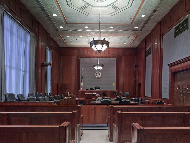 Courtroom, Benches, Seats, Law, Justice, Lighting, Wood