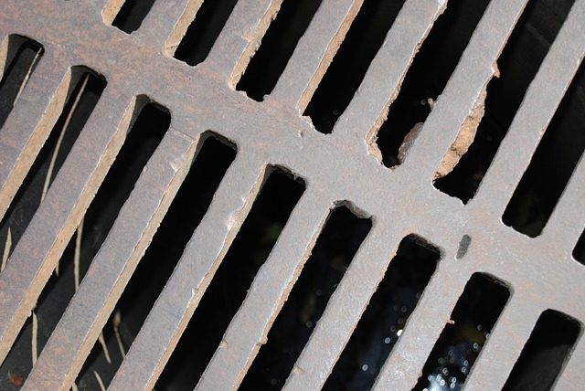 Sump Cover, Iron, Rust, Sewer, Main, Cover, Manhole