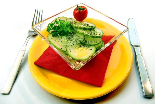 Salad, Cucumbers, Vitamins, Healthy, Cover