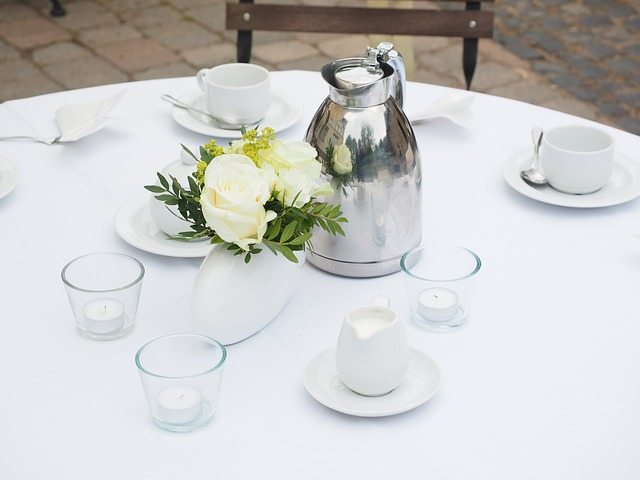 Wedding Table, Table, Covered, Wedding, Decoration